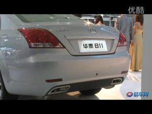 2011上海车展 华泰展台B11完美展示