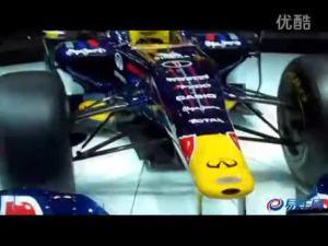 国外车友车展实拍英菲尼迪F1赛车