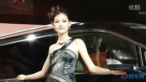 2011广州车展 日产贵士模特姿色过人
