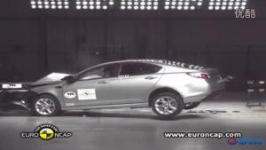 E-NCAP 2012款全新MG6碰撞测试