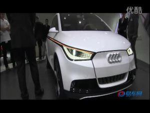 国外车展上展出的奥迪A2概念车