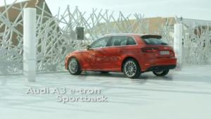 2013法兰克福车展 奥迪A3 e-tron