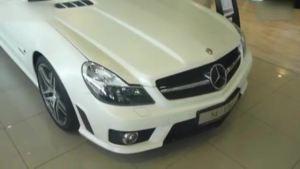 高性能豪华车 奔驰SL63 AMG到店实拍