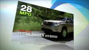 丰田混合动力全系车型集体出镜