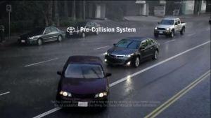 丰田安全广告 科技是安全的保障