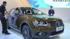 2013广州车展 大众展台热门车型盘点