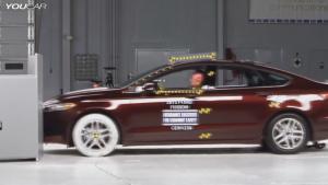 美国IIHS 福特新蒙迪欧最严苛碰撞测试