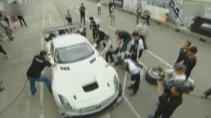 2013奔驰AMG极致驾驭盛典赛场特辑