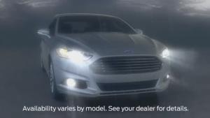 保障行车安全 福特福克斯的汽车灯