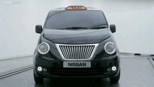 改头换面 伦敦版出租车日产NV200亮相