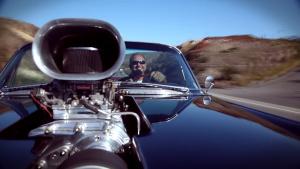 凯迪拉克伍德大黑吸气孔型肌肉车