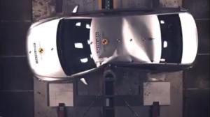 2014款雪铁龙爱丽舍 E-NCAP碰撞测试