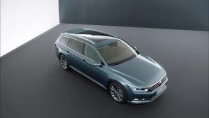 2015款大众迈腾旅行版 车身长度达4.8米