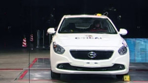 C-NCAP碰撞测试 传祺GA3荣获五星