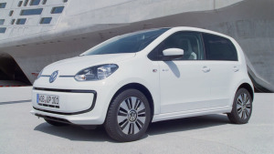 德国试驾大众e-up! 新能源电动车