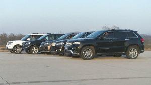 SUV专业测试系统第一期 中高级SUV测试