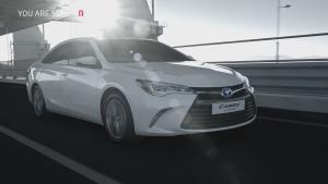 2015款丰田凯美瑞混动版 超低油耗