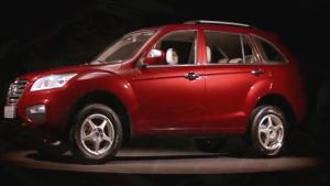 力帆X60首款SUV车型 全方位欣赏