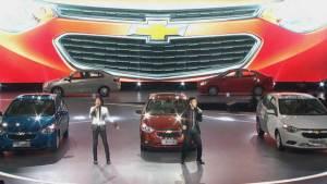 2015款雪佛兰赛欧3发布会现场 羽泉献歌