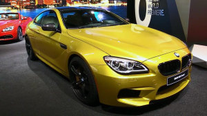 2015北美车展 全新宝马M6 Coupe