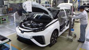 丰田Mirai氢燃料电池车 探秘生产车间