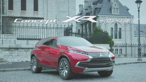 2015日内瓦车展 三菱XR-PHEV概念车