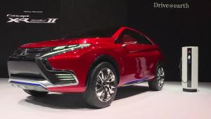 2015日内瓦车展 三菱XR-PHEV II概念车