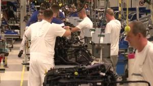 工厂探秘 大众高尔夫GTE高科技生产线