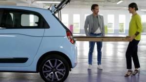 进口雷诺Twingo微型车 空间灵活更实用