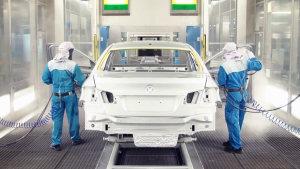 宝马汽车涂装车间 探访高科技生产流程
