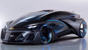 雪佛兰FNR概念车 可切换自动智能驾驶