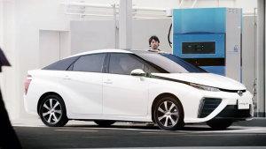 丰田Mirai氢燃料电池车 续航里程更长