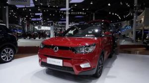 双龙小型SUV中文名蒂维拉 或6月上市