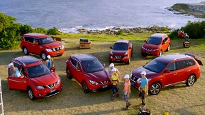 日产品牌宣传片 家族SUV车型汇聚一堂