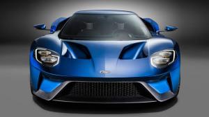 全新福特GT跑车 造型夸张极具未来感