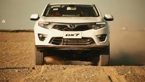 都市紧凑SUV 东南DX7极端环境测试