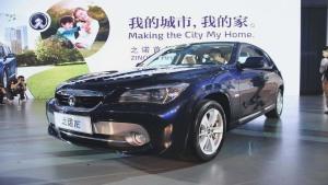纯电动汽车之诺1E 最高时速达130km