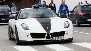 720超大马力 法拉利599引擎性能强劲