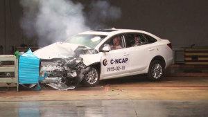 C-NCAP碰撞测试 全新英朗获5星级评定