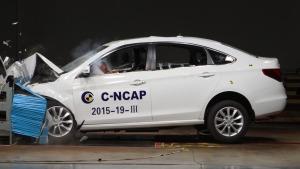 C-NCAP碰撞测试 东风风行景逸S50获五星