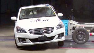 C-NCAP碰撞测试 长安铃木启悦荣获五星