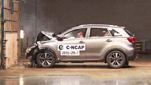 C-NCAP碰撞测试 起亚KX3荣获五星