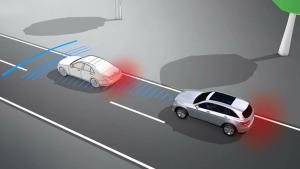 奔驰GLC中级SUV 配备制动辅助系统