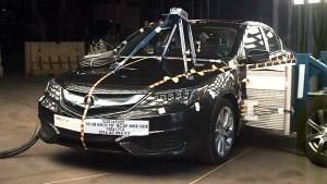 新款讴歌ILX NHTSA侧面碰撞测试