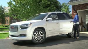 纯美式全尺寸SUV 2015款GMC Acadia