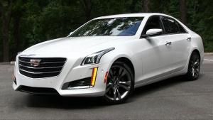 2015款凯迪拉克CTS 风尚性能豪华轿车
