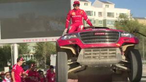 加冕冠军 哈弗战车登上环塔最高领奖台