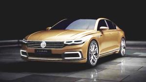 2015法兰克福车展 大众全新C级车将首发