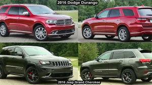 2016款大切诺基VS道奇Durango 对比评测