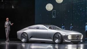 2015法兰克福车展 奔驰IAA概念车首发